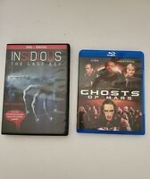A Bundle Of Horror Movies Ghosts Of Mars Bluray & Insidious The Last Key DVD