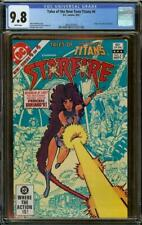 Tales of the New Teen Titans #4 CGC 9.8 Origin of Starfire & Blackfire