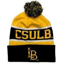 CSULB Cal State Long Beach 49ers University NCAA Winter Pom Pom Beanie Cap Hat