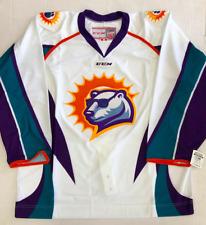 New Authentic Pro Stock CCM Orlando Solar Bear ECHL Hockey Player Jersey 56 6700