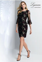 New FRANK LYMAN UK Size 12 Floral EMBROIDERED DRESS BNWT ⭐ WEDDING OCCASION