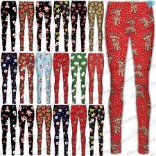 Full Length Christmas Leggings for Women