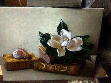 Antonio Sciacca olio su tela SUPER PREZZO! VERO AFFARE!! Magnolia Biggi Simeti