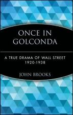 Once in Golconda: A True Drama of Wall Street 1920-1938 (Hardback or Cased Book)