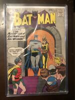 Batman 122 DC Comic Book 1959 Batwoman Robin Vintage