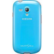 GENUINE Samsung Galaxy S3 Mini Protective Cover Case Blue / Grey EFC-1M7BLEGSTD