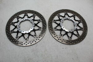 17-20 HONDA CBR1000RR FRONT LEFT RIGHT BRAKE ROTORS DISCS