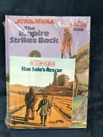 SEALED Star Wars Empire Strikes Back RETURN OF THE JEDI HAN SOLO POP UP BOOKS!!