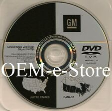 Only 2006 2007 2008 2009 Cadillac DTS GPS Navigation OEM DVD Map U.S Canada
