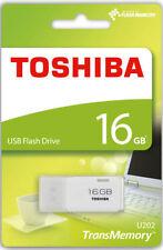 Pendrive bianco Toshiba da 16 GB