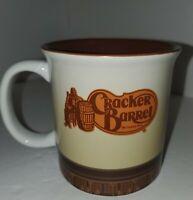 Vintage Cracker Barrel Large Coffee Mug Rooster Wind Gauge Collectible