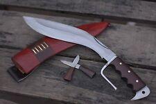 Khukuri Kukri Gurkha Knife Blade Hand Forged Nepal Full Tang Genuine Handmade