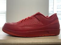 "JORDAN 2 RETRO LOW ""GYM RED"" NIKE AIR sz 12"