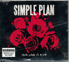 Simple Plan Your Love Is a Lie (Explicit) CD Single (Out of Print) '08