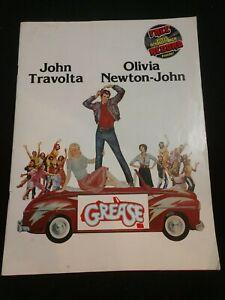 Original GREASE (1978) Movie Paramount Product Information Handbook w/2 Records