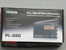 Tecsun PL-680 receptor sintetizado con PLL