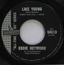 Jazz 45 Eddie Heywood - Like Young / Canadian Sunset On Liberty Records