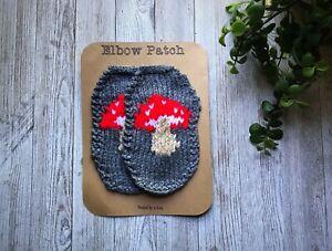 Mushroom Elbow Patches