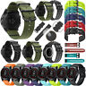 For Garmin Fenix 3 5X 5S Rubber Silicone&Nylon Watch Band Strap Men's Watchband