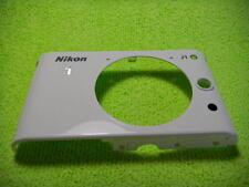 GENUINE NIKON 1 J1 IR FRONT CASE WHITE PARTS FOR REPAIR