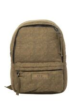 JOHN VARVATOS STAR USA Puffer Backpack Book Bag Men's Nylon Olive NWT
