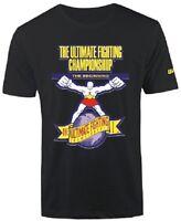 UFC The Beginning Logo T-Shirt - Black -Mens Size S/M/XL/2XL  NWT