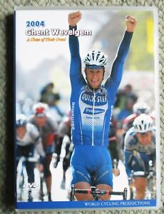 2004 Ghent Wevelgem World Cycling Productions DVD Tom Boonen Very Clean