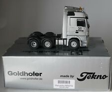 TEKNO 6500TS Mercedes-Benz Actros 6x2 Goldhofer Tractor in 1:50 scale
