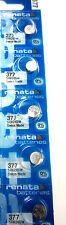 5 pcs Renata 377 Watch Batteries SR626SW SR626W