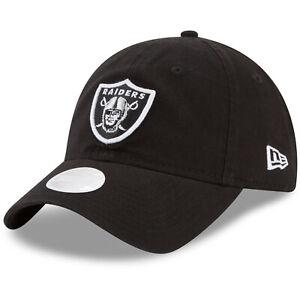 Las Vegas Raiders Women's NFL Sideline Adjustable Hat Cap Oakland Ladies Black