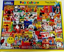 NEW White Mountain Jigsaw Puzzle POP CULTURE 1000 Piece 24X30 Ships Fast Free