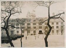 PARIS c. 1930 -Inauguration Bâtiments École Polytechnique Canons Élèves- PRM 244