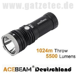ACEBEAM K30-GT LED Taschenlampe 5500 Lumen Luminus SBT90.2 neu