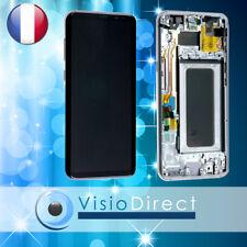 Ecran tactile + LCD sur chassis pour Samsung Galaxy S8 Plus G955F gris argent