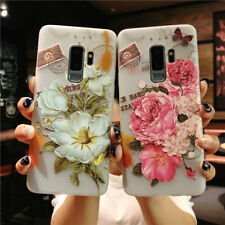 Bloom Rose Camellia Flower Fashion Shockproof Soft Shell Case Cover For Phone