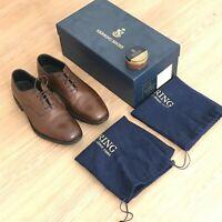 Herring Shoes Knightsbridge Tobacco Oxford shoes, size UK7G