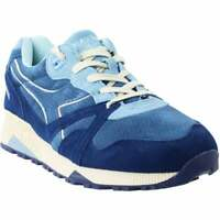 Diadora N9000 S  Casual Running Stability Sneakers - Blue - Mens