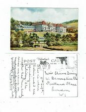 POST CARD ART CARD BY F.C. PARR THE HYDROPATHC, PEEBLES. A1973