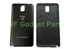OEM Samsung Galaxy Note 3 N900V Battery Back Cover + S/P  (Verizon)~ BLACK US-FL