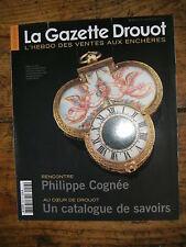La Gazette Drouot N°3 2012 1203 Philippe Cogné Boilly Ernest Biéler