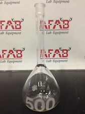 500 Ml Clear Glass Volumetric Flask Kontes