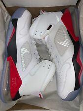 Nike Jordan Mars 270 CD7070-100 White Red Air Max 270 Shoes Size 12 NEW $160