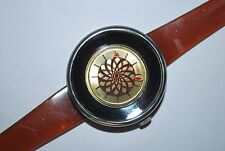 Vintage SUTTON Watch 1970's Cocktail Kaleidoscope Wind Up Ladies Watch Swiss
