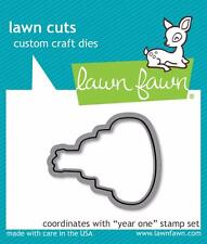 Lawn Fawn Lawn Cuts Cutting Dies YEAR ONE Happy Birthday Cake Die  LF 1013