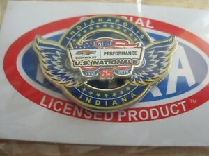 2019 NHRA Indy 65th U S Nationals Chevrolet Hat Pin
