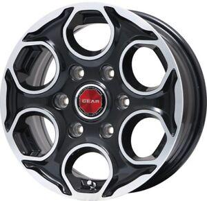 PREMIX GEAR 15x6.0J +44 6x139 for NISSAN NV350/URVAN wheels set of 4 from JAPAN
