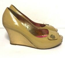 Lilly Pulitzer Peep Toe Wedges Size 8