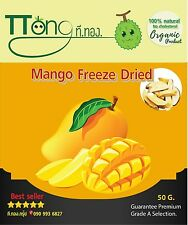 50gx3 Thai Mango Vacuum Freeze dried 100% natural No additives free shipping