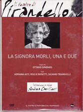 DVD die Theater von Pirandello ~ die Lady Morli ein E Zwei von O.Spadaro Neu