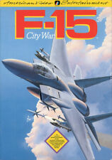 F-15 City War Nintendo Nes Cleaned & Tested Authentic